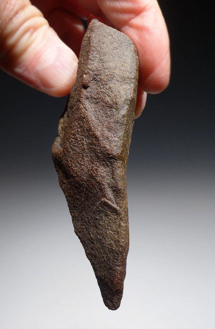 EXCELLENT MOUSTERIAN LANCEOLATE STONE AGE HANDAXE FROM NORTH AFRICA  *ACH425