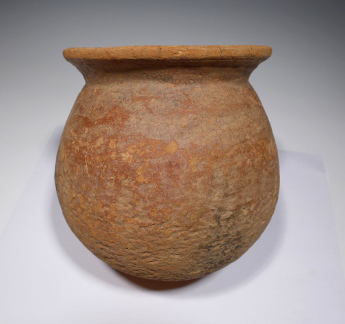 EXTREMELY RARE AFRICAN NEOLITHIC WIDE RIM CERAMIC POT FROM THE WEST SAHEL  *PCAP01