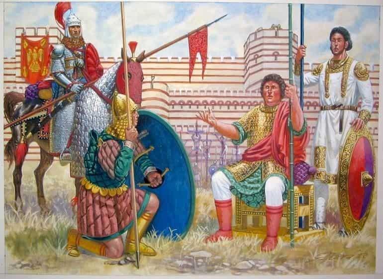 BYZANTINE ARMY CAVALRY