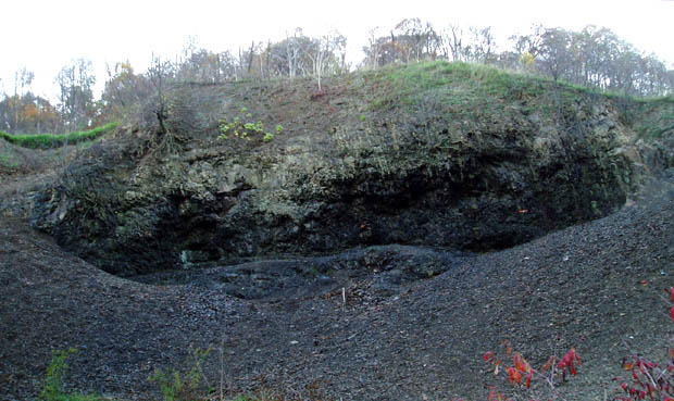 FOSSIL QUARRY PIT