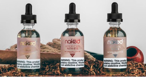 3 pack Tobacco Sample | Naked 100 Tobacco by the Schwartz | 30ml (3x10ml) | 3mg