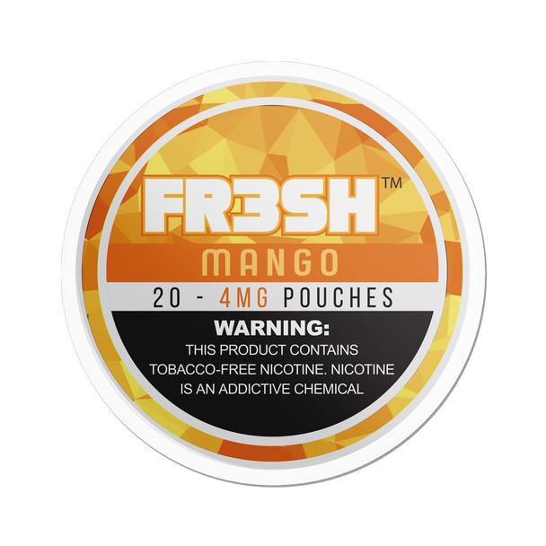 Mango | FR3SH Tobacco Free Nicotine pouches | 4mg & 6mg options