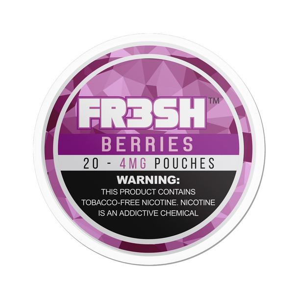 Berries | FR3SH Tobacco Free Nicotine pouches | 4mg & 6mg options