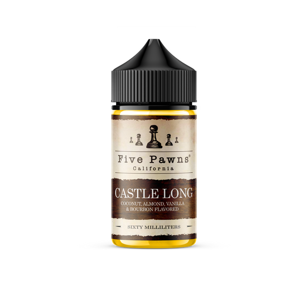 Castle Long *SN* | Five Pawns | 60ml (New Chubby Bottle) | Special Buy 12mg