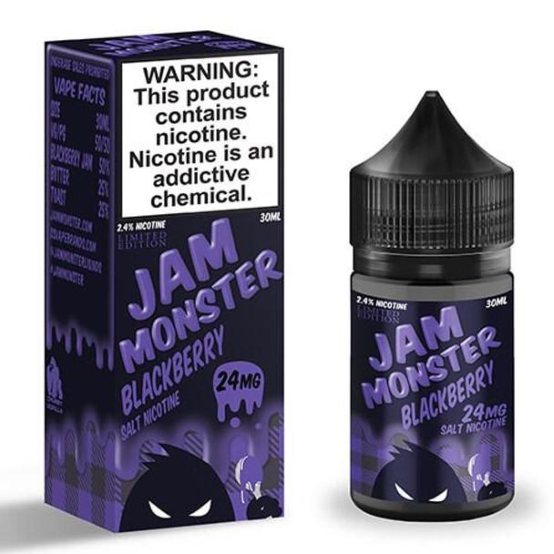 Blackberry | Jam Monster eJuice Salt | 30ml