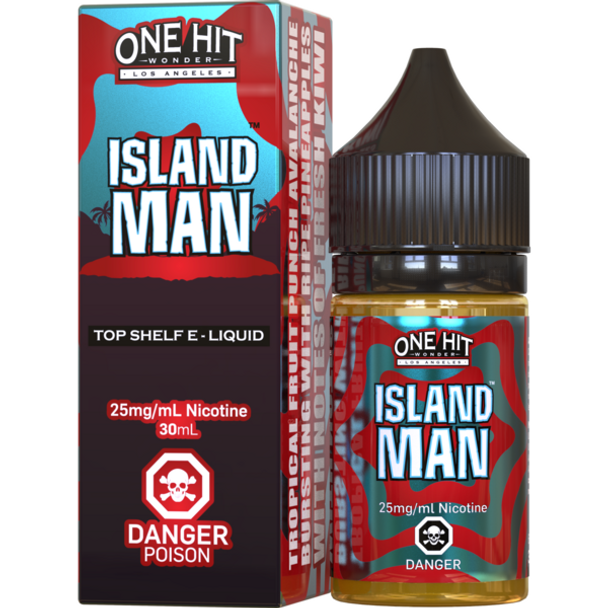 Island Man | One Hit Wonder Salt Nic | 30ml (INTERNATIONAL ONLY)