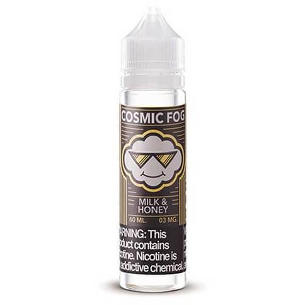 Milk & Honey 70% VG | Cosmic Fog | 60ml | New Chubby Bottle (Super Deal)