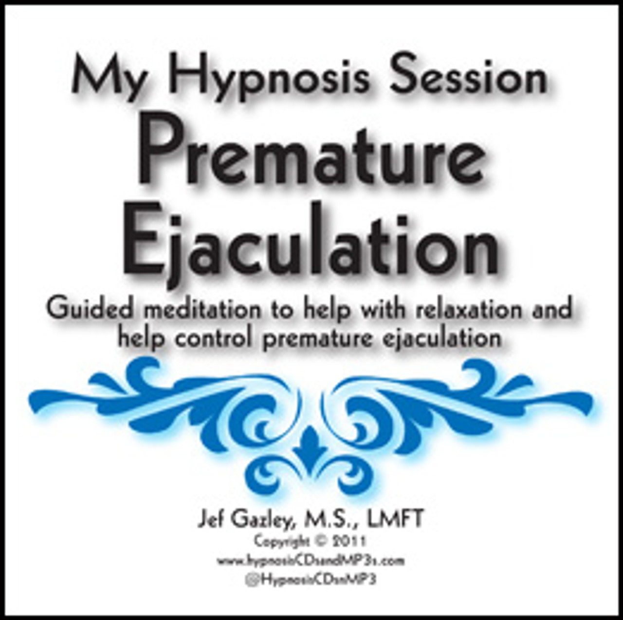 Premature Ejaculation Hypnosis CD