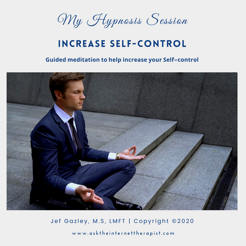 Increase Self-control Hypnosis CD