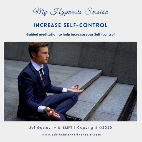 Increase Self-control Hypnosis CD