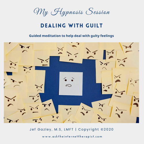 Dealing with Guilt Hypnosis CD