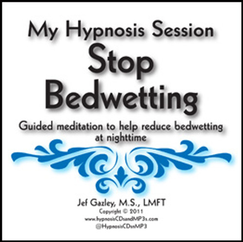 Stop Bedwetting Hypnosis CD