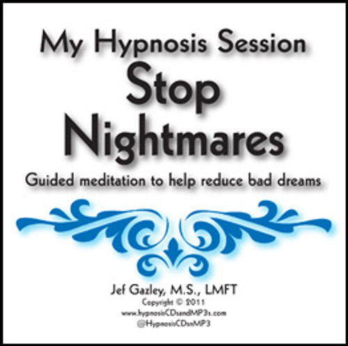 Stop Nightmares Hypnosis CD