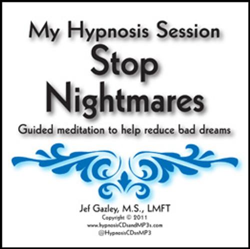 Stop Nightmares Hypnosis CD