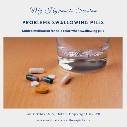 Problems Swallowing Pills Hypnosis CD