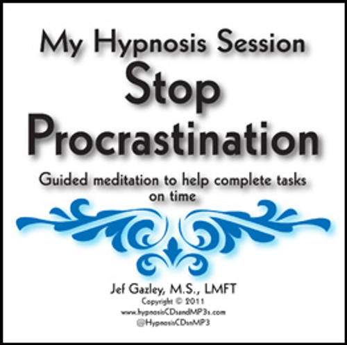 Stop Procrastination Hypnosis CD