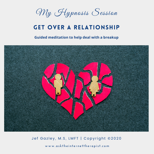 Get Over a Relationship Hypnosis CD