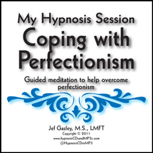 Coping with Perfectionism Hypnosis CD