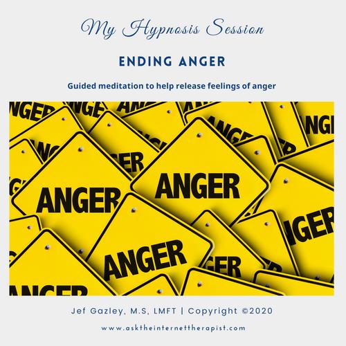 Ending Anger Hypnosis CD