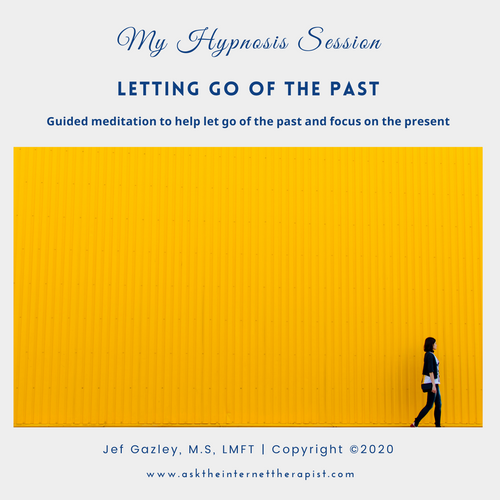 Letting Go of the Past Hypnosis CD