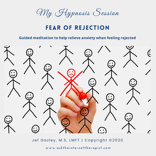 Fear of Rejection Hypnosis CD