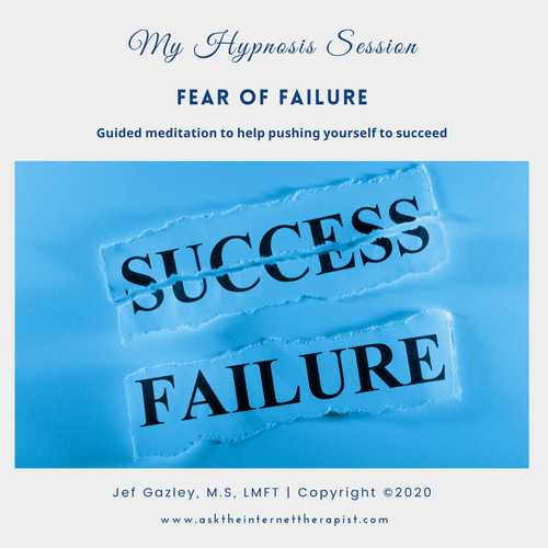 Fear of Failure Hypnosis CD