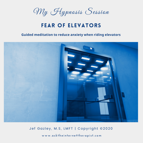 Fear of Elevators Hypnosis CD