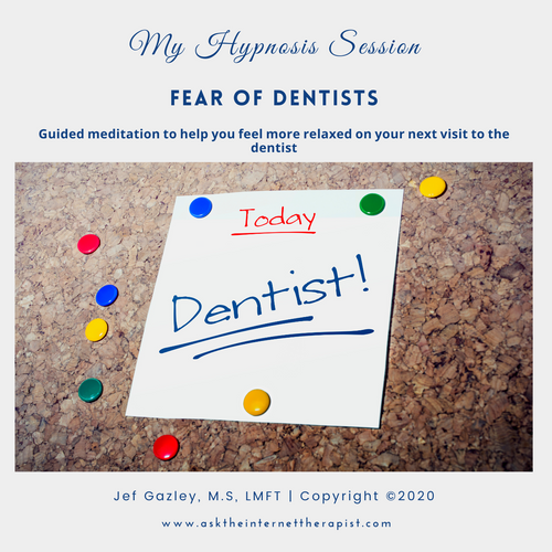 Fear of Dentists Hypnosis CD