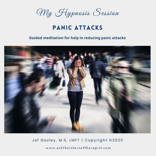 Panic Attacks Hypnosis CD