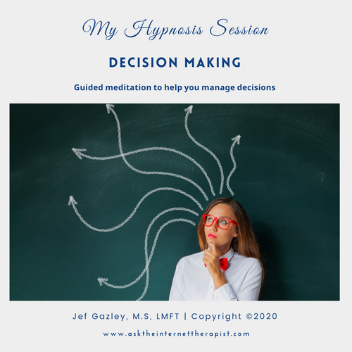 Decision Making Hypnosis CD
