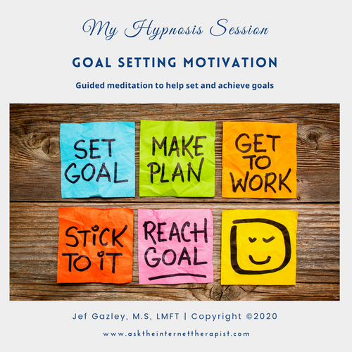 Goal Setting Motivation Hypnosis CD