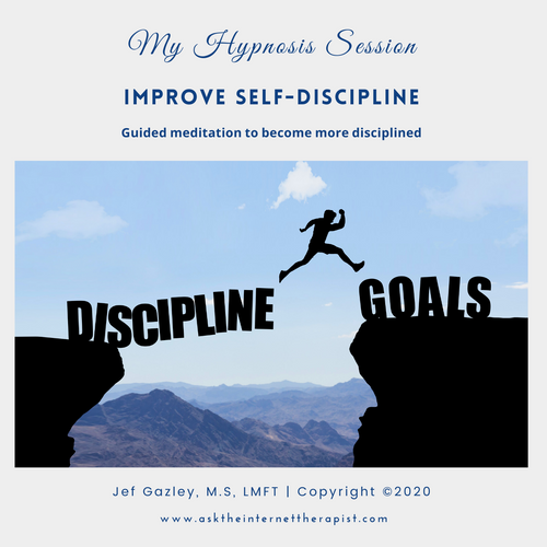 Improve Self-discipline Hypnosis CD