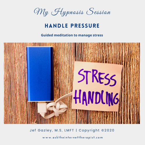 Handle Pressure Hypnosis CD