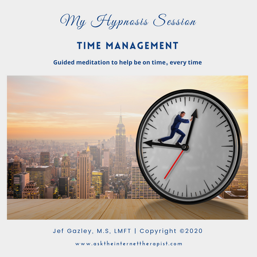 Time Management Hypnosis CD