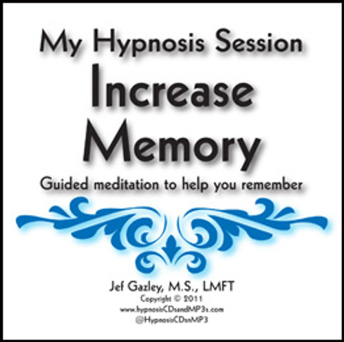 Increase Memory Hypnosis CD
