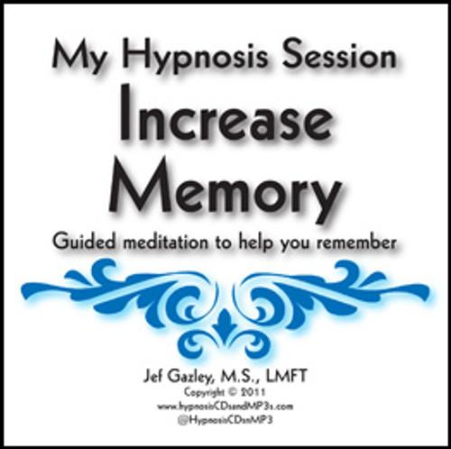 Increase Memory Hypnosis CD