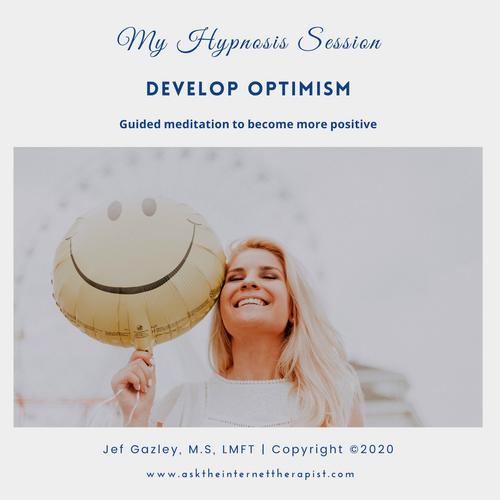 Develop Optimism Hypnosis CD