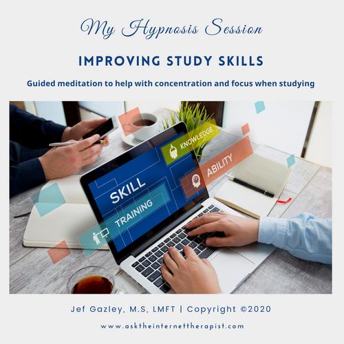Improving Study Skills Hypnosis CD