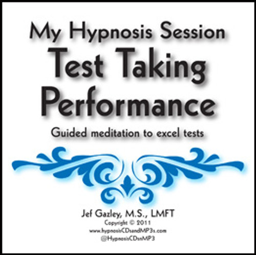 Test Taking Performance Hypnosis CD