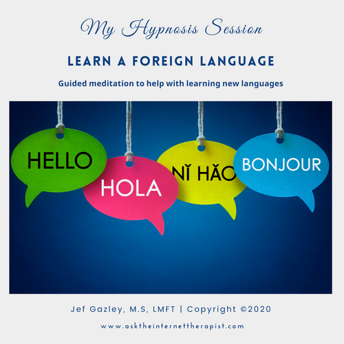 Learn a Foreign Language Hypnosis CD