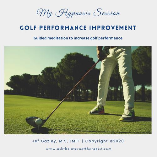 Golf Performance Improvement Hypnosis MP3