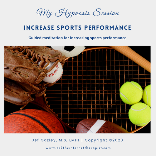 Increase Sports Performance Hypnosis MP3