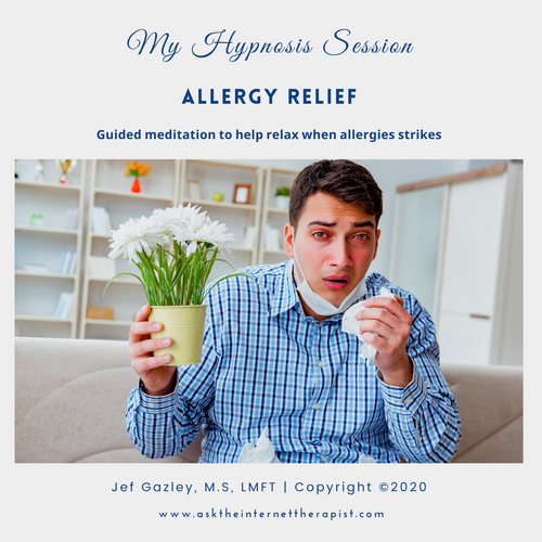 Allergy Relief Hypnosis MP3
