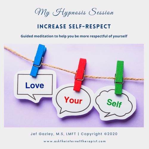 Increase Self-respect Hypnosis MP3