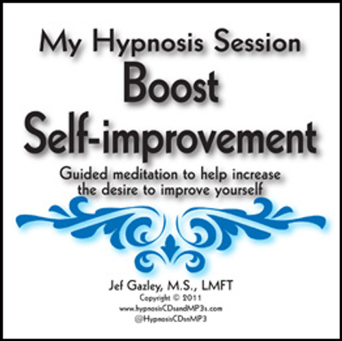 Boost Self-improvement Hypnosis MP3