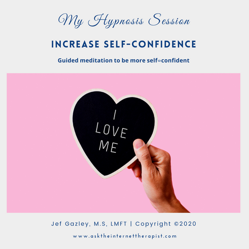 Increase Self-Confidence Hypnosis MP3