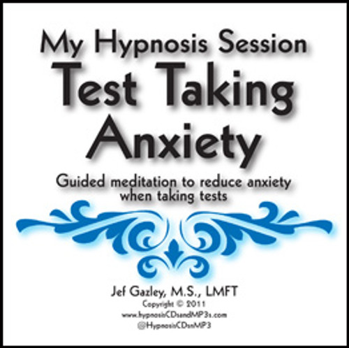 Test Anxiety Hypnosis MP3