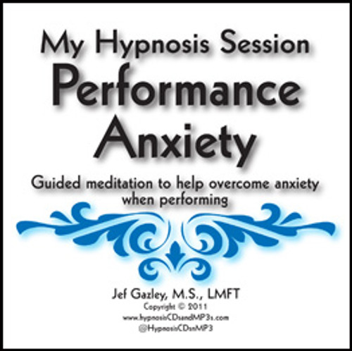 Performance Anxiety Hypnosis MP3