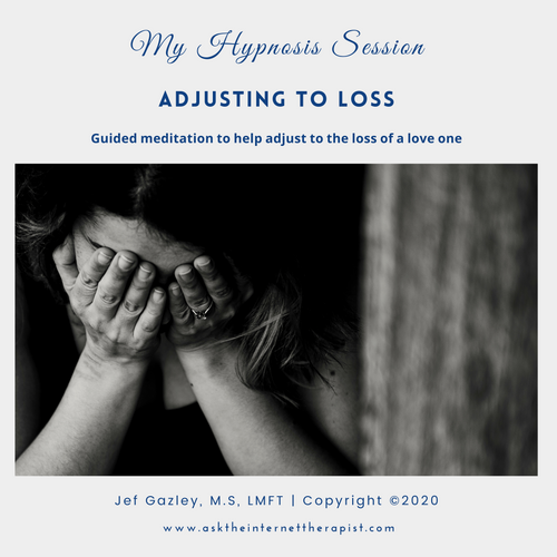 Adjusting To Loss Hypnosis MP3