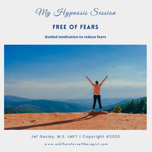 Free of Fears Hypnosis MP3